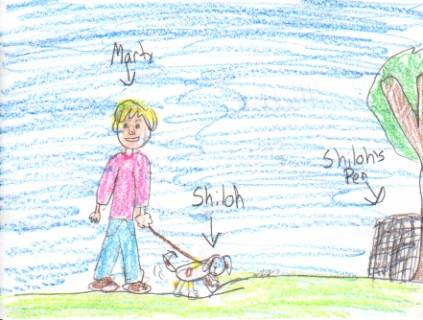 shiloh book report At first, the situation in shiloh seems clear: judd is mean, and marty is heroically trying to protect a defenseless dog but things soon become less clear-cut, and marty's actions inadvertently cause shiloh to suffer far more seriously than he did at judd's hands.