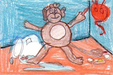 Naughty Little Monkeys Written By Jim Aylesworth