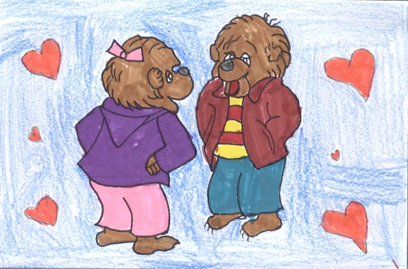 Schön It Was Valentineu0027s Day In Bear Country. Sister Really Wanted A Valentineu0027s  Card From Herbie Cubbison. Sister Bear Really Liked Herbie.