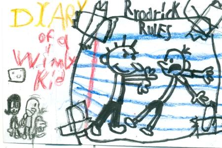 Spaghetti Book Club Diary Of A Wimpy Kid Rodrick Rules